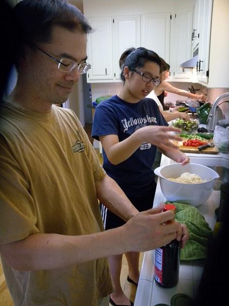 chefs in the kitchen by SandyChan574