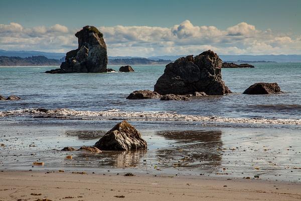 Beach North of Trinidad.jpg by Harrison Clark