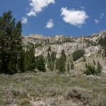 Sawtooth Mtns Alturas Lake Trail 2014