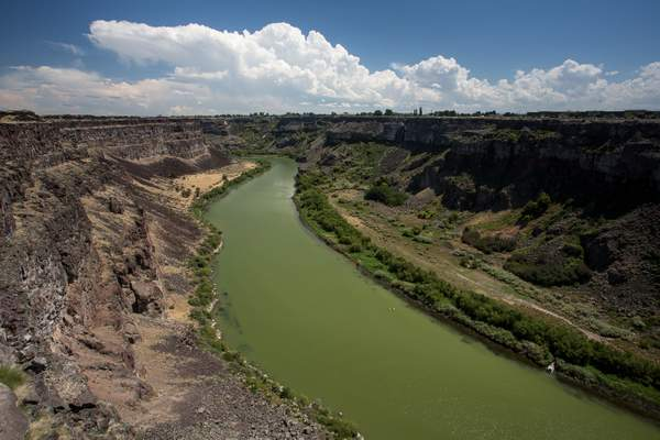 Snake River East of Twin Falls