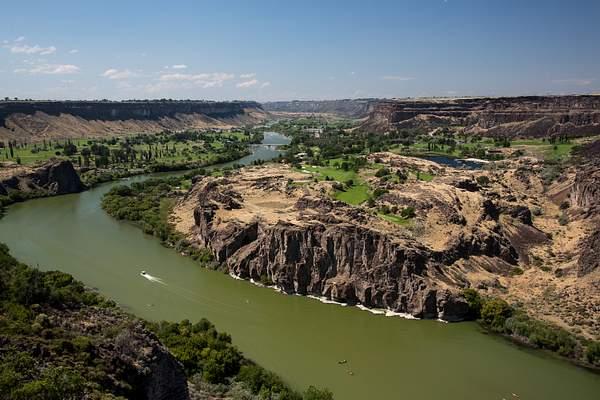 Snake River So of Peririne Bridge