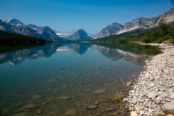 Many Glacier by Harrison Clark