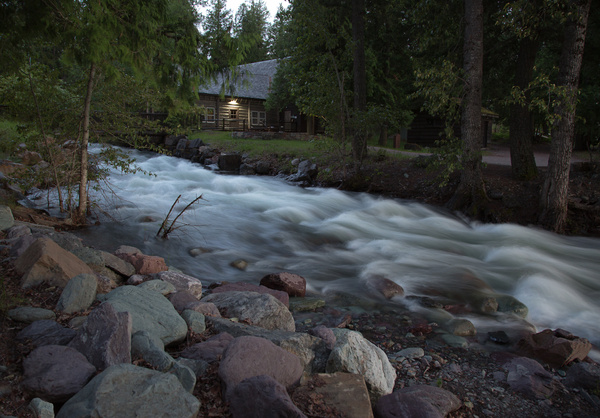 Stream West of McDonald Lodge.jpg by Harrison Clark