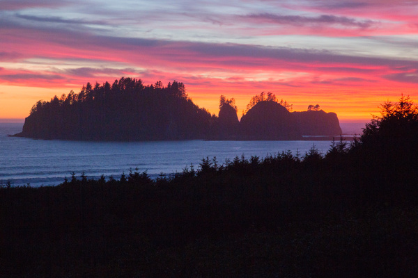 La Push Second Beach 32.jpg by Harrison Clark