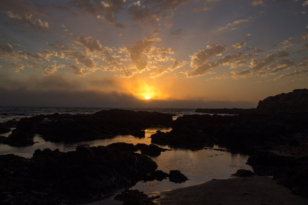 Sunset in Cambria.jpg by Harrison Clark