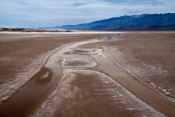 Dirty Salt in Death Valley