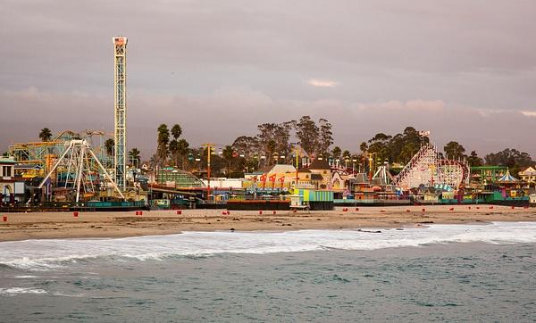 Santa Cruz Boardwalk by Harrison Clark