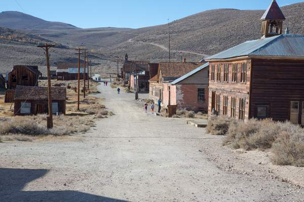 School House on Right