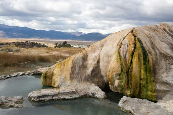 Travertine Hot Springs near Bridgeport CA 1