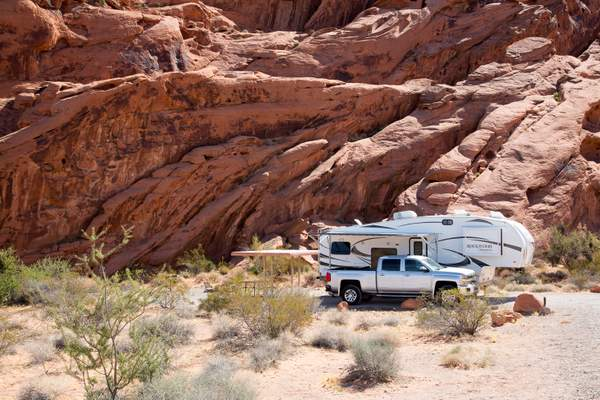Valley of Fire Campground