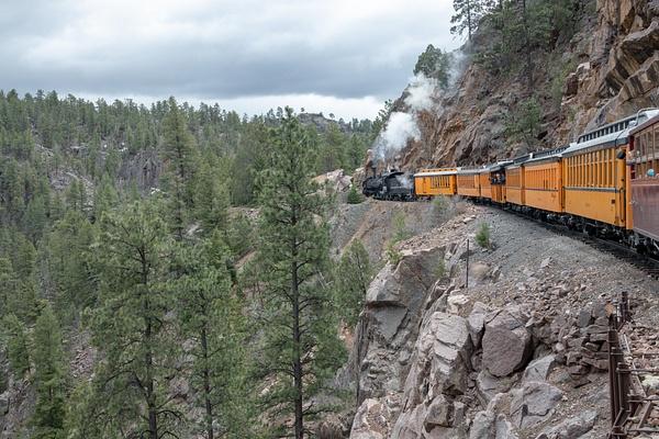 2019 Durango to Silverton Railroad by Harrison Clark