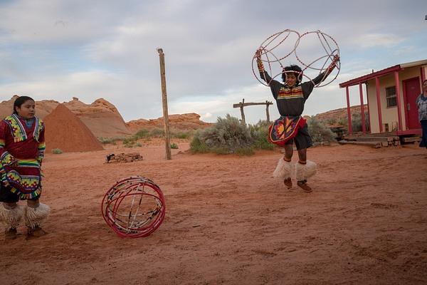 Navaho Hoop Dancers by Harrison Clark