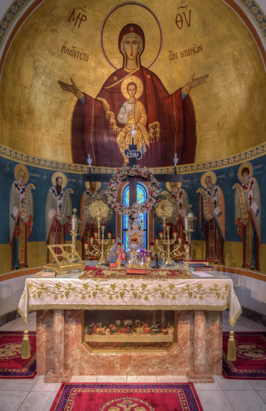 Greek Orthodox Church - Tremont by MartinShook369