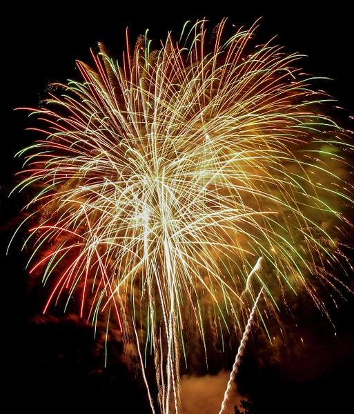 New Castle fireworks 2013 by MartinShook369