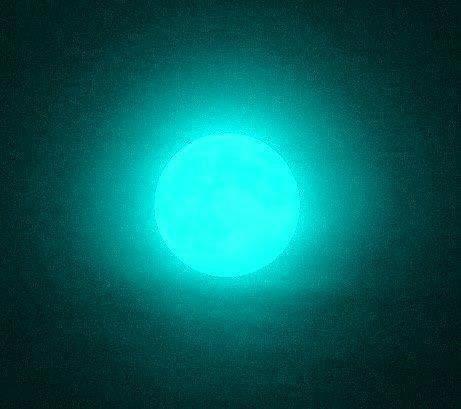 Bleu nuit...