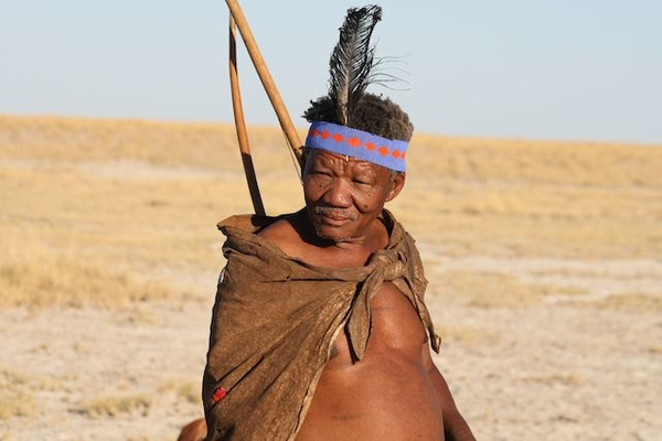 Bushman by AnneMetzger