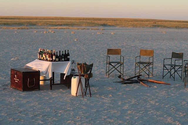Cocktail Hour in the Makgadikadi