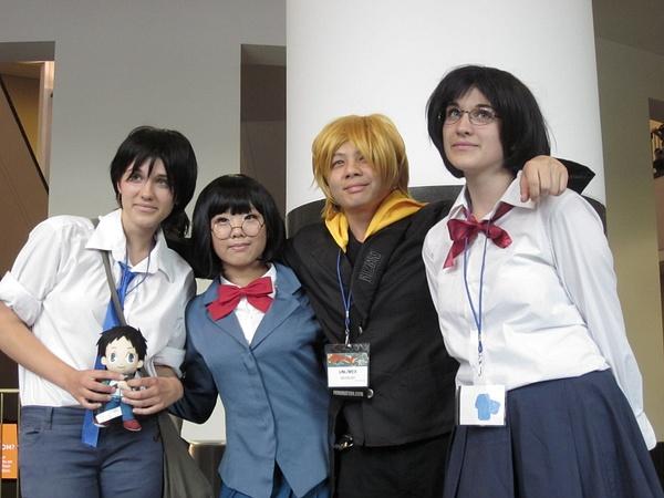 Anri, Mikado and Masaomi by FhsAnimeClub