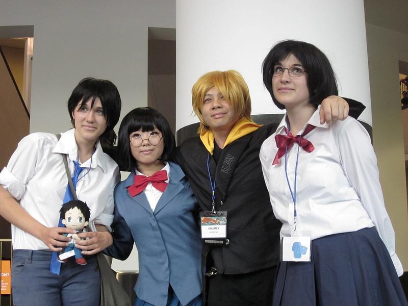 Anri, Mikado and Masaomi