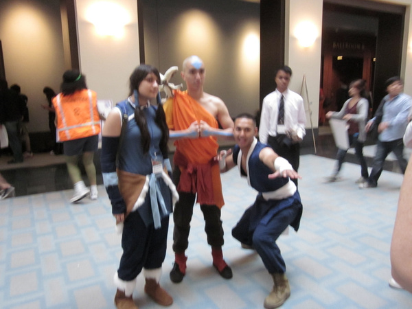 Jess (Korra) found her past life!...and Sokka by...