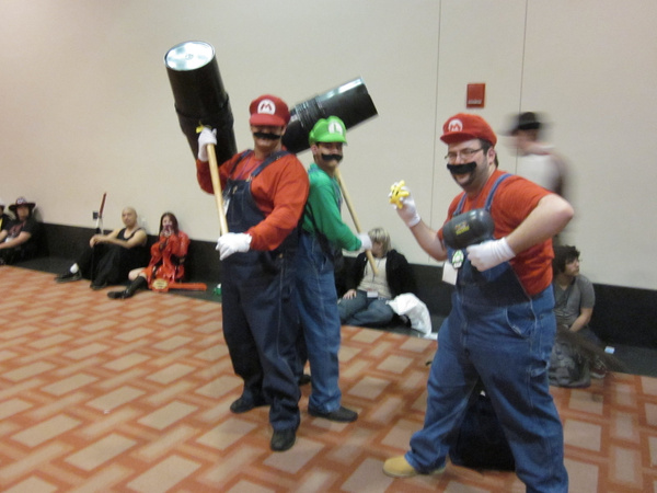 It's a me, Mario! by FhsAnimeClub