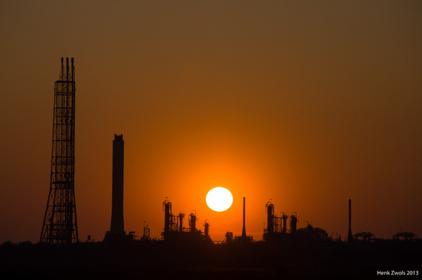 Industry sunset
