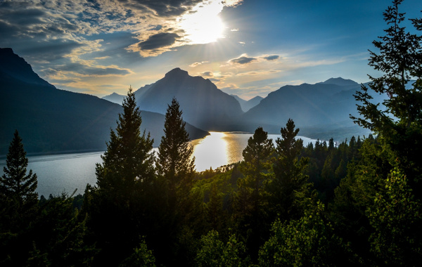 Two Medicine - Glacier NP - Aug '13 by Jack Carroll