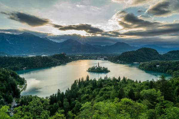 Bled Sunrise