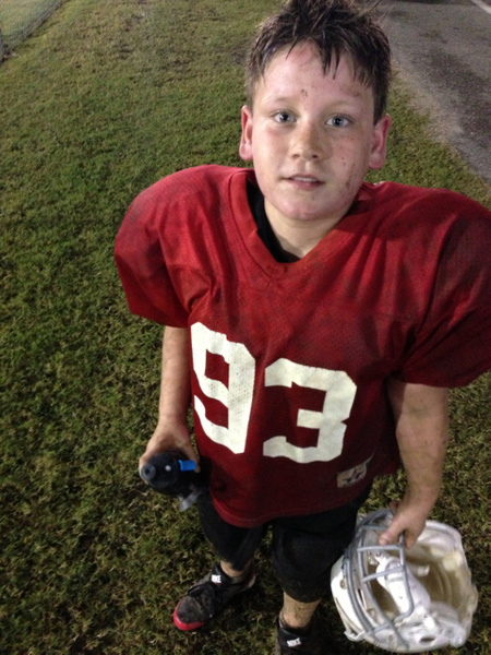 Landen_Football_Practice_Sept_2013 by KeepingUpWithTheKardos