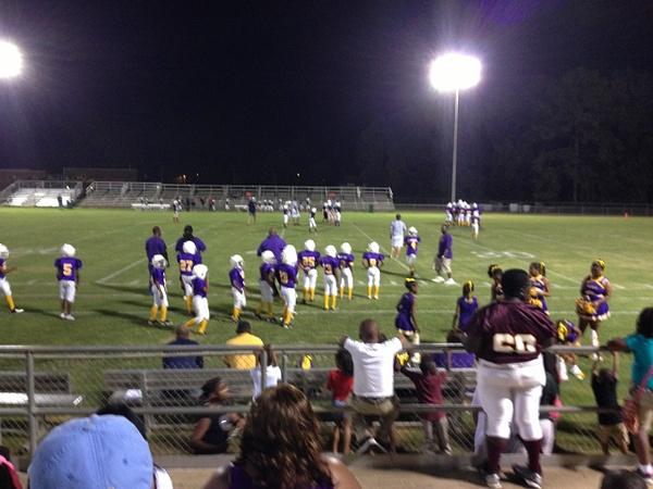 Landen's First Football Game Dothan 2013 by KeepingUpWithTheKardos