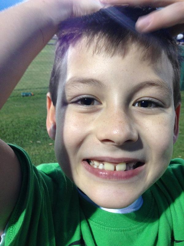 Landen's First Football Game Dothan Sept 2013 (9)