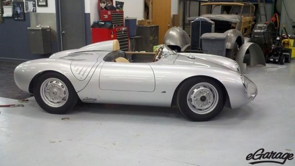Porsche 550A Spyder by EGARAGE by EGARAGE