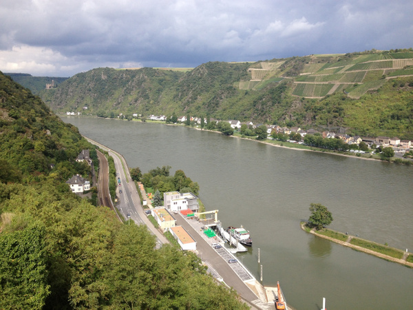 Germany - Rhine River by HeatherBo