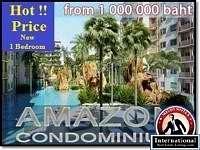 Pattaya, Chonburi, Thailand Condo For Sale - New Release Condo 1 Bedroom in Jomtien
