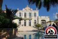 Cannes, French Riviera, France Villa For Sale - Luxury Old Villa of the XIX Century by internationalrealestate
