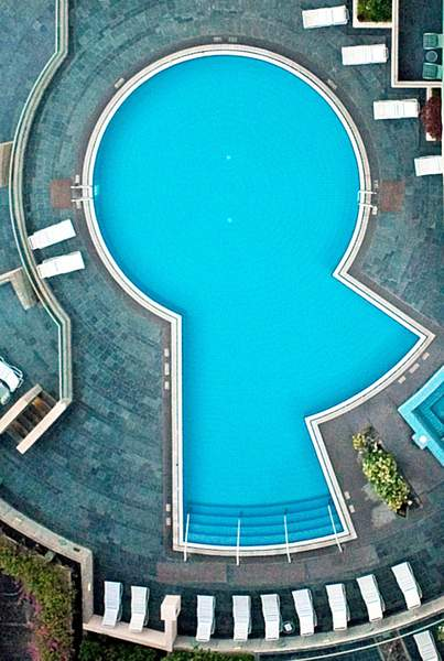 Too High for a High Dive at the Prince Hotel, Honolulu!