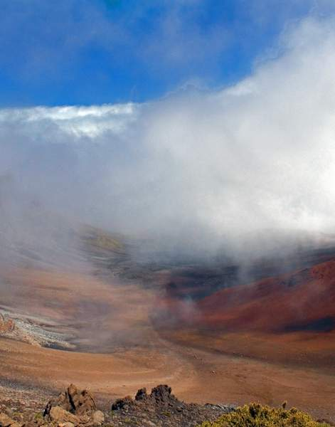 Haleakala Volcanic Crater, View No. 2