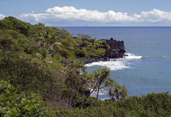 Hana Coastline, Maui, Hawaii