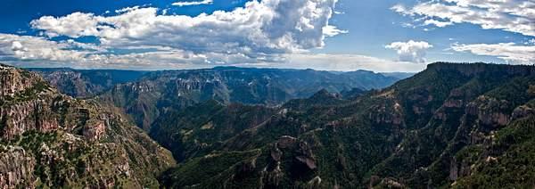 Copper Canyon Panorama, Divisadero, Mexico