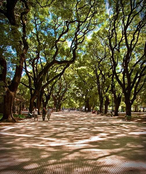 San Martin Square, Buenos Aires, Argentina