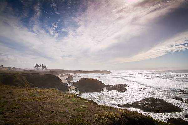 Silvery Sea