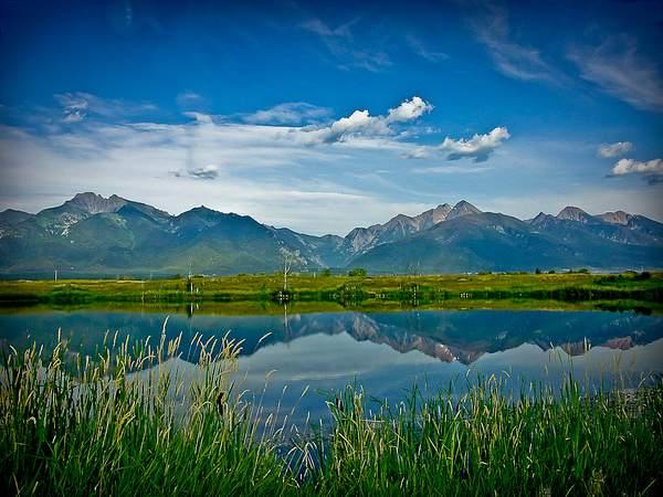 Ninepipe, Montana