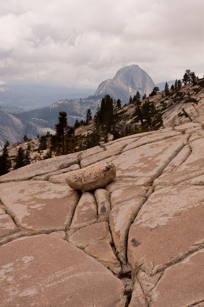 Half Dome from Olmsted Point by j0ser
