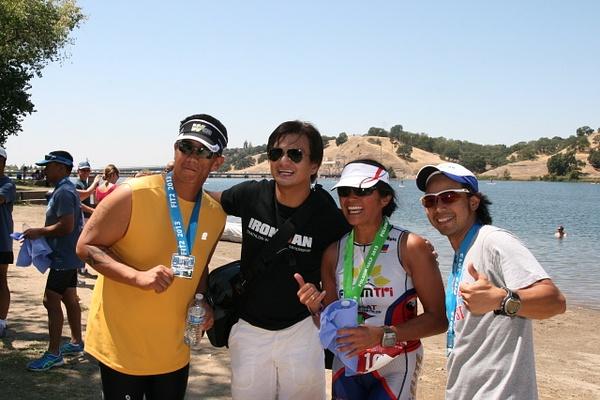 Folsom Triathlons by Hyperlitehunny