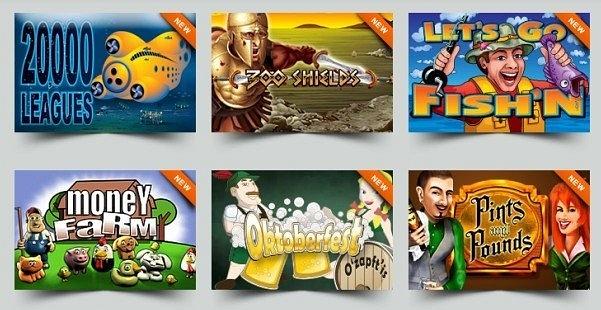 InterCasino Games