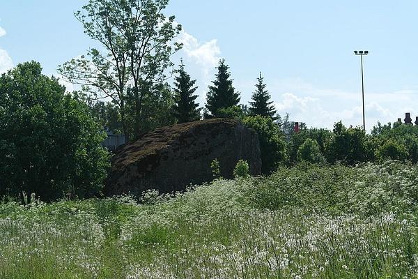 Aruküla glacial erratic by Hardi Hõlpus