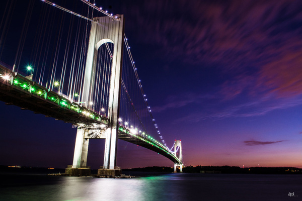 Verrazano Bridge by DPLPhotography