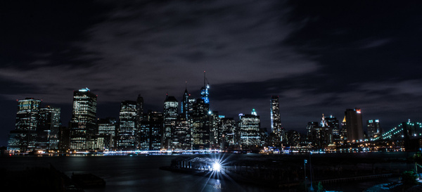 NYC at night by DPLPhotography