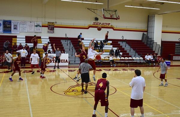 Alumni Game, Family, Coaches, & Alumni vs Players 11/29/14 by Robert Pettingill