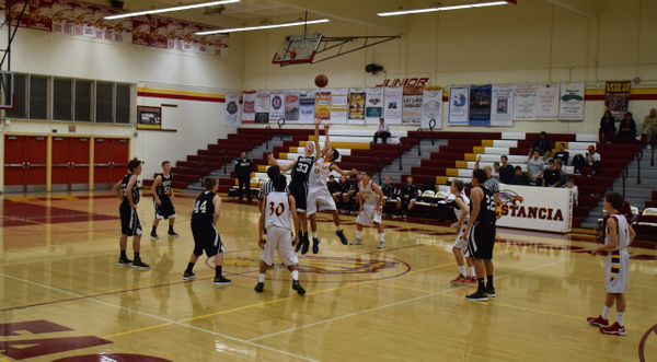 Estancia Frosh Tournament vs Servite 12/2/14 by Robert Pettingill